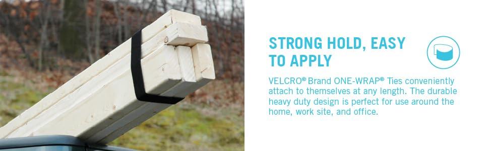 Velcro One Wrap rolls