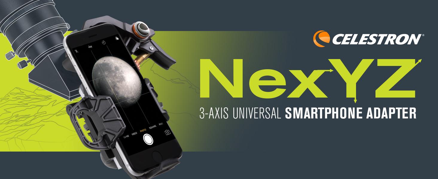 NexYZ 3-Axis Universal Smartphone Adapter