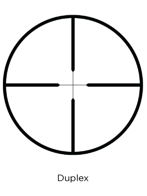 Leupold Duplex reticle