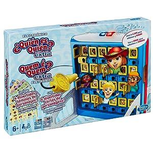 Hasbro Gaming Quién es quién Extra (B2226175): Amazon.es: Juguetes y juegos