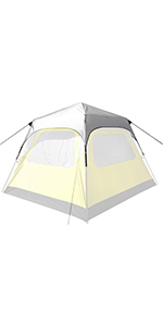 PahaQue Basecamp 6-Person Instant Tent Rainfly