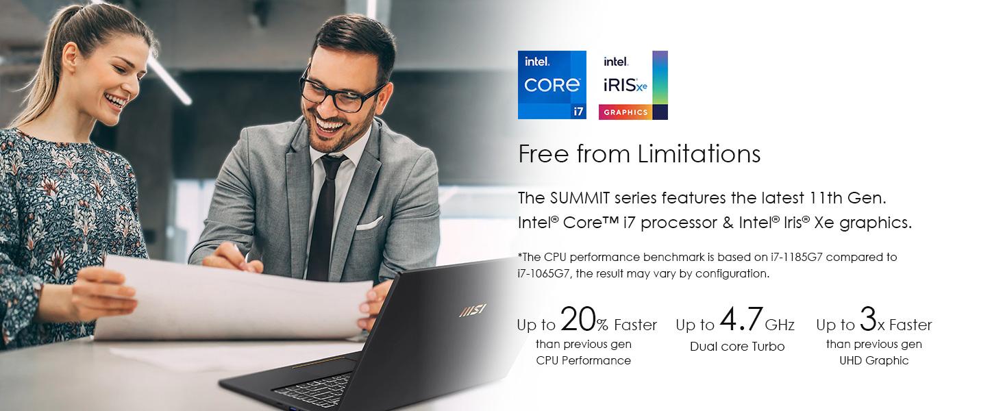 intel core i7 iris xe cpu processor