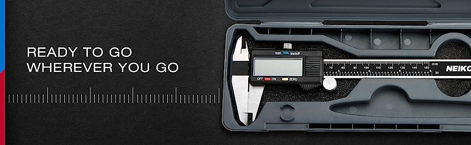 digital caliper case
