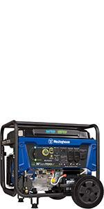 6000 watt portable generator electric start