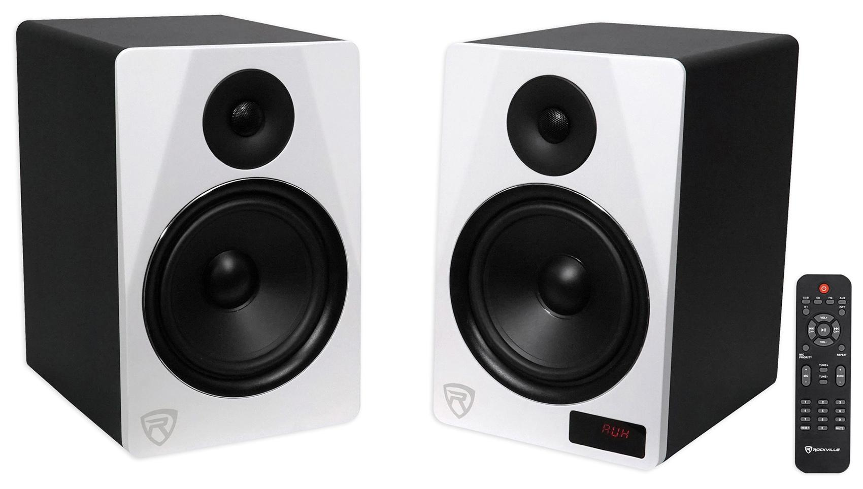 Subwoofers Will Consistent Power To Both Maximizing Your Rockville Hts8w Pair 8 1000w Powered Home Theater View Larger