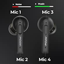ANC wireless earbuds