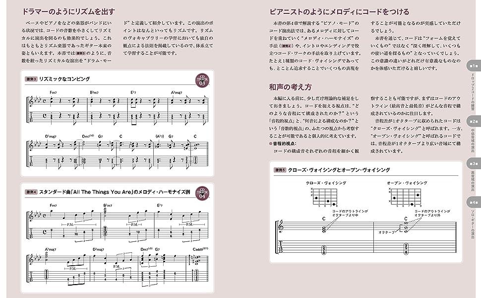 リズムを出す、メロディにコードをつける、和音の考え方