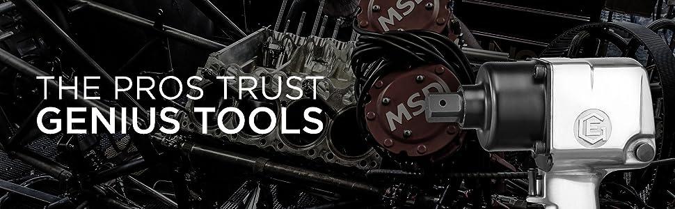 The Pros Trust Genius Tools