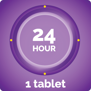 24 hour 1 tablet