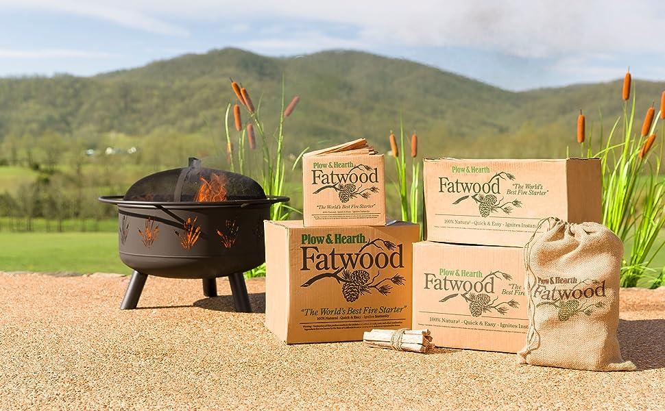 fatwood, fire starter, kindling