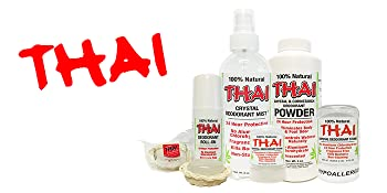 THAI Natural Crystal Deodorant Product Family