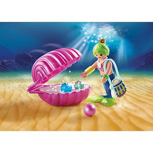 Playmobil 70096 Magic Mermaids Beauty Salon with Pearl