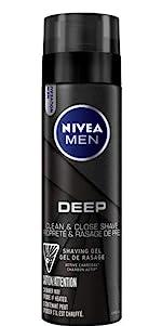 nivea men deep shaving gel