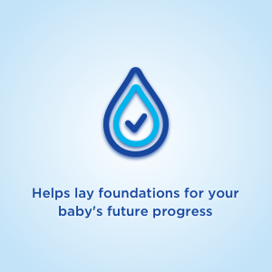 Helps lay foundations for your baby's future progress