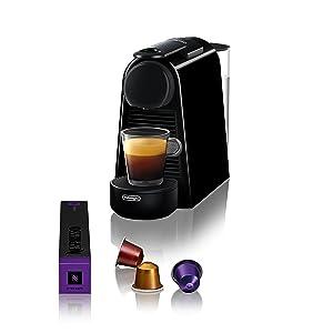 Nespresso by DeLonghi EN85B Nespresso Essenza Mini Espresso Machine, Black