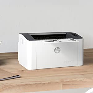 HP Laser 107a - Impresora láser (20 ppm, LED, USB 2.0 de alta ...