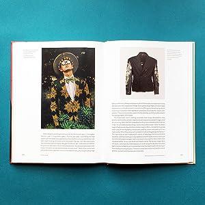 Dandy Style, Men's Fashion, Floral Printed Suit, John Richmond Biker Jacket