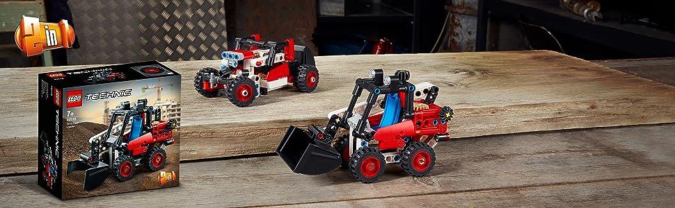 LEGO Technic Skid Steer Loader 42116 Model Building Kit Playset 139pcs Jan.1,21