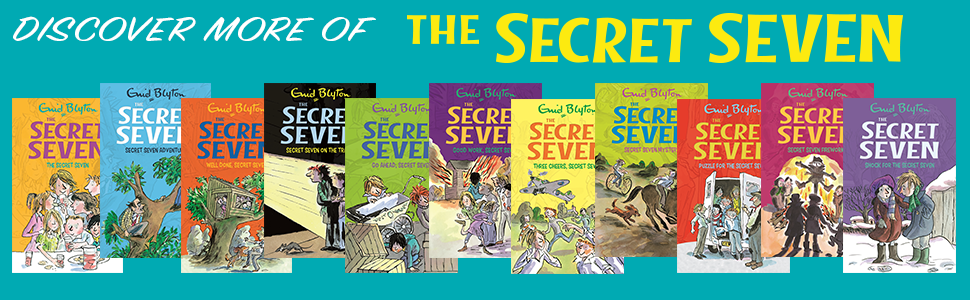 Secret Seven, Mystery of the Skull, Mystery of the Theatre Ghost