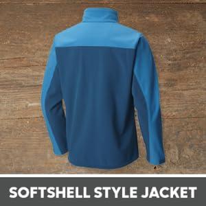 softshell style jacket