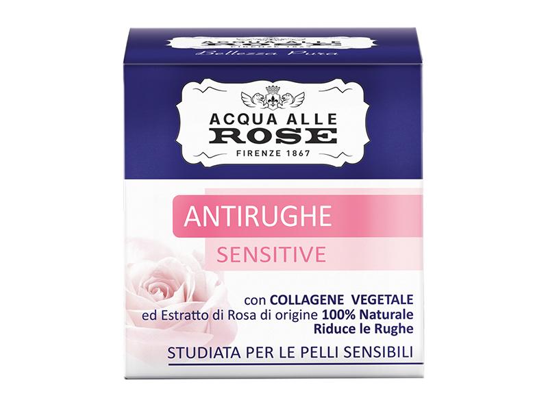 Antirughe sensitive, linea sensitive, pelli sensibili, beauty routine, crema viso