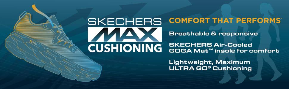 Max Cushioning Sketchers Skechers GOrun GOwalk
