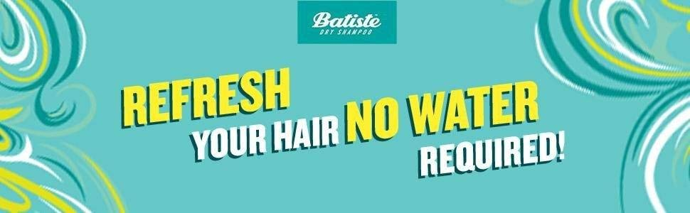 Refresh your hair no water required!