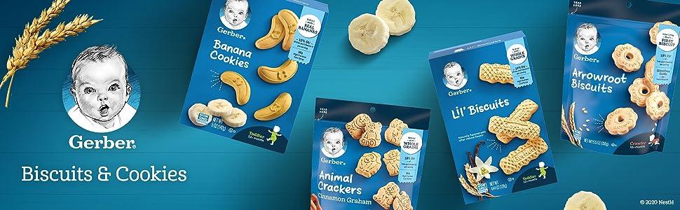 Gerber Biscuits and Cookies