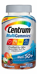 Centrum MultiGummies Men 50+