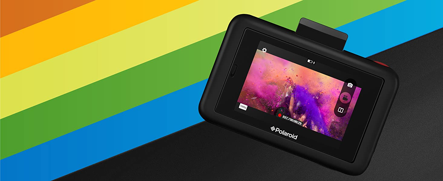 Polaroid snap touch instant printing video recording