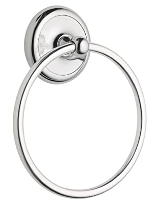 Moen 5386ch Yorkshire Bathroom Hand Towel Ring Chrome Chrome Towel Rings For Bathroom Amazon Com