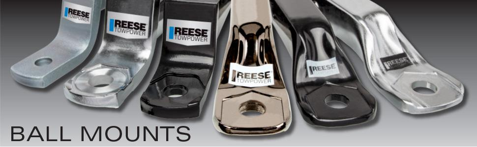 Reese 7031300 Class III Adjustable Weight Carrying Ball Mount
