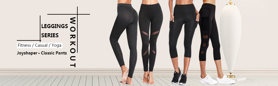 f0167eb44c672a Amazon.com: Joyshaper Workout Leggings for Women Scrunch Butt Ruched ...