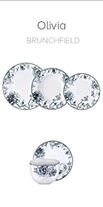... Vajilla porcelana Brunchfield colección Olivia Q2388 Q2389. Características, Vajillas de porcelana Pierre Cardin ...