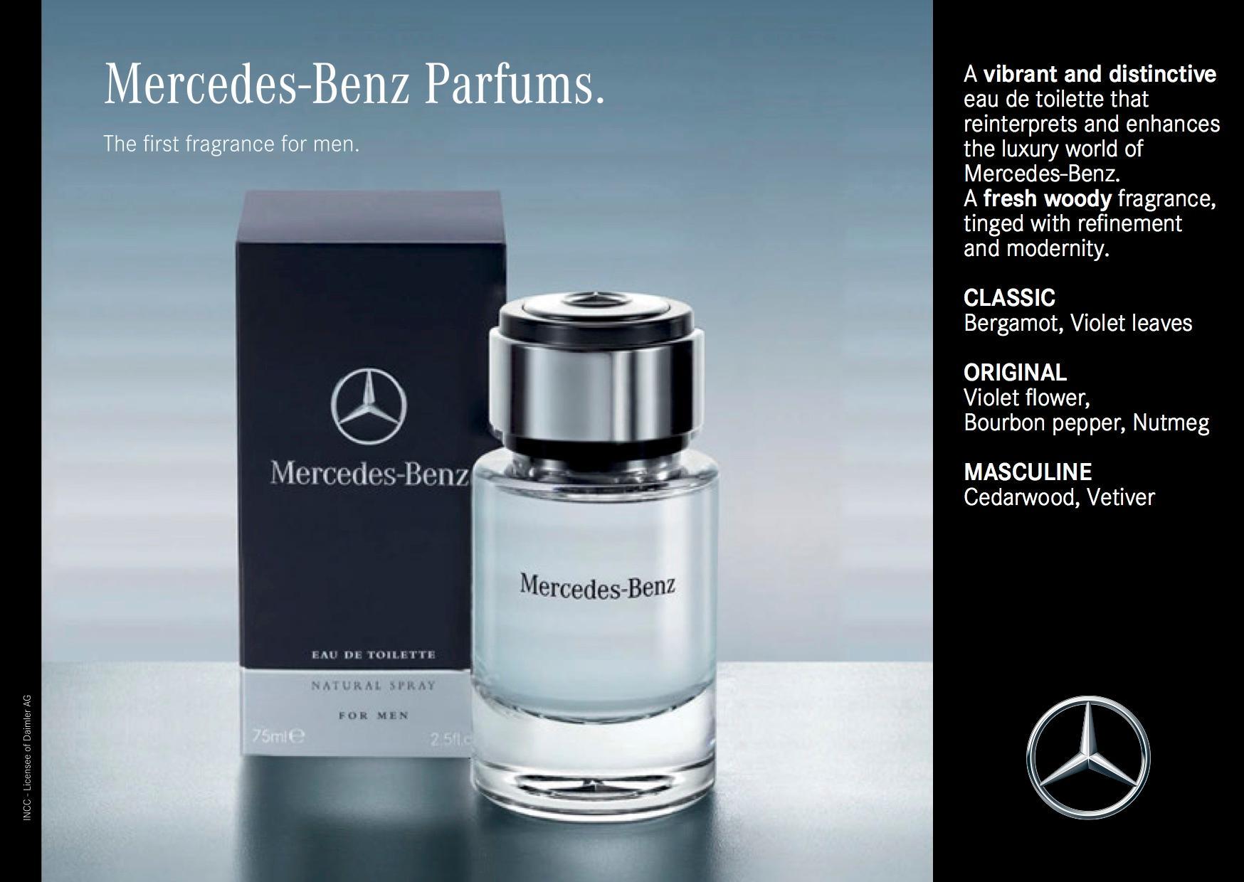 Mercedes benz eau de toilette spray for men 4 0 ounce for Mercedes benz cologne review