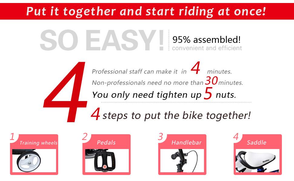 RoyalBaby 2 Hand Brakes Kids Bike