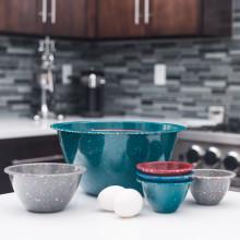 Eggshell LS Zak Designs 1313-7626-AMZ Confetti Serving Bowls
