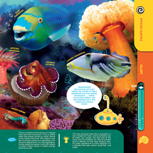 Sea Animals, whales, augmented reality, interactive, science, nature