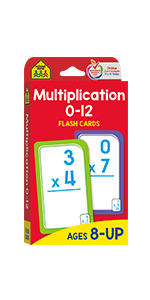 Multiplication 0-12 Flash Cards, Math, Addition, Subtraction, Flash Cards