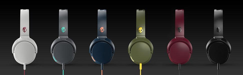 Skullcandy Riff On-Ear Headphone - Blue/sunset