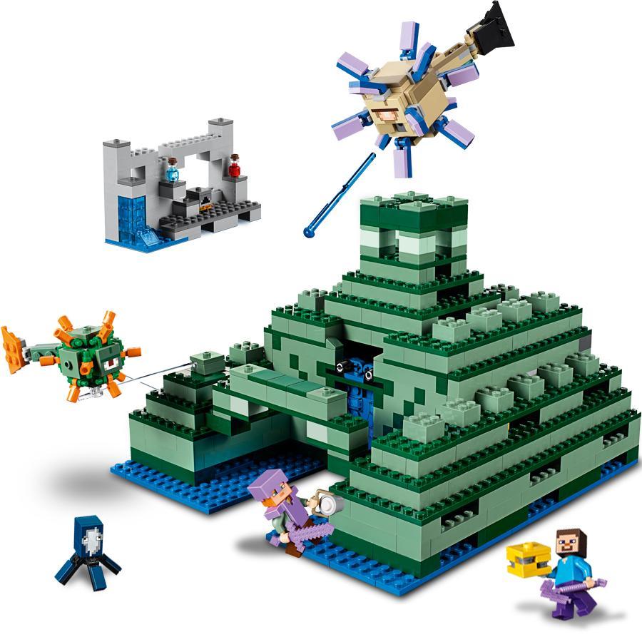 Amazon.com: LEGO Minecraft The Ocean Monument 21136 ...