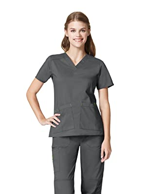 Womens Scrubs, Scrub Tops, Best Scrubs, Stretch, WonderWink, Scrubs, Hospital, Uniforms, Tops