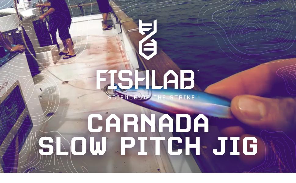 FishLab Carnada Slow Pitch Jig Lure Header Image