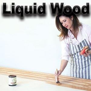 liquid wood,chalk paint,retique it,faux wood
