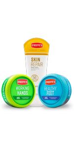 O'Keeffe's Working Hands, Healthy Feet, and Skin Repair Variety Pack