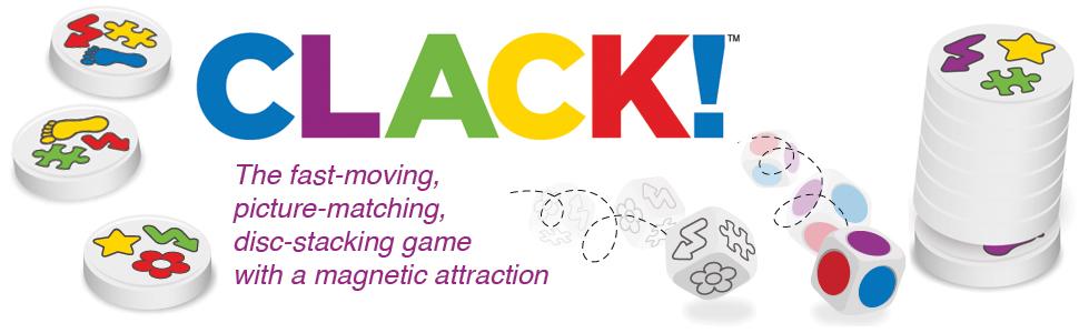 Clack, magnet, game