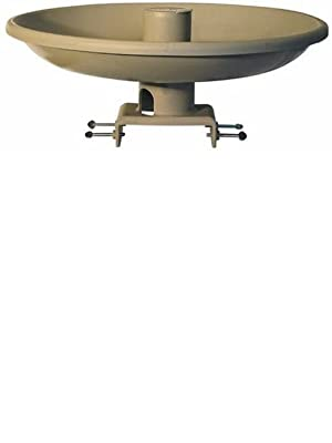 Tan Farm Innovators Model HBI-150 All Seasons Premium Heated Birdbath with Deck Mount /& Perch Pack of 2 150-Watt