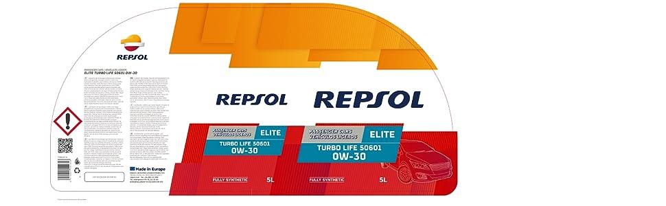 Repsol Motorenöl Elite Turbo Life 50601 0w 30 Auto