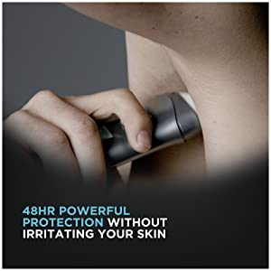 48 hour powerful protection without irritating your skin