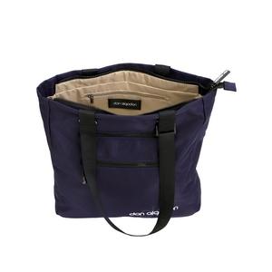 bolso de compras bimba y lola cartera monedero shopper mano colgante bolsa lana tela lona guess